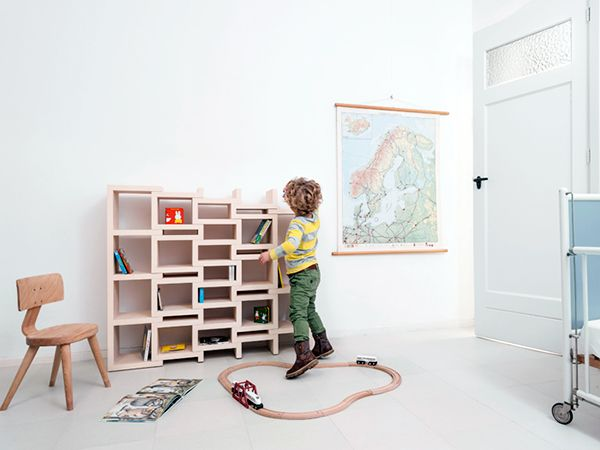 REK Bookcase Junior By Reinier De Jong /  Amazing Ideas