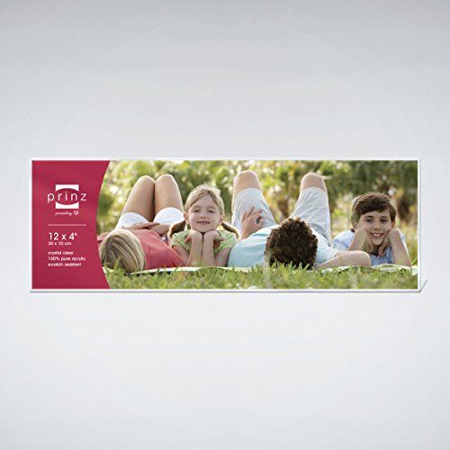 "Prinz Acrylic Panoramic Picture Frame for 12"" x 4"" Photos. Horizontal PRINZ"
