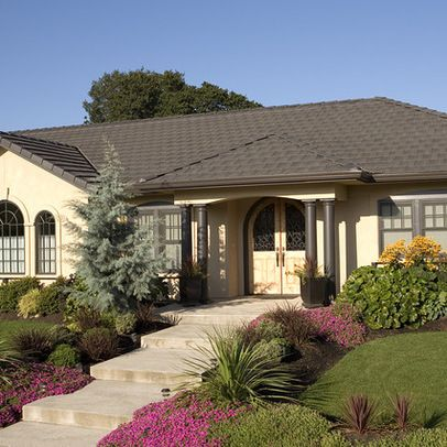 36 best images about ranch style homes on pinterest for Ranch house curb appeal