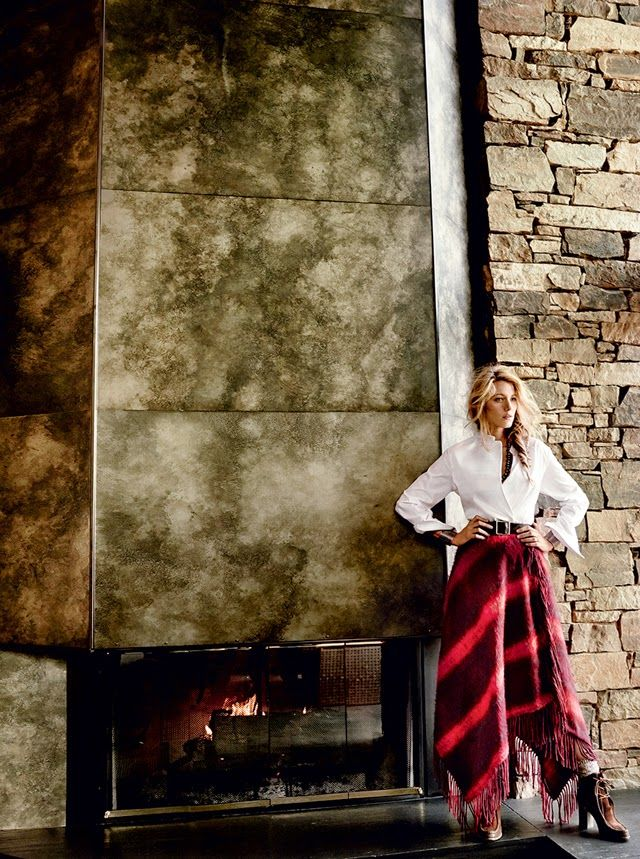 Fashion Foie Gras: New favourite cover shoot of all time: Blake Lively for Vogue August 2014 issue (in Ralph Lauren, naturally)