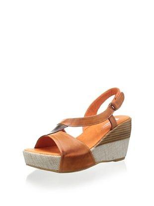 50% OFF Antelope Women's Slingback Sandal (Coffee/Brick)