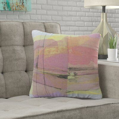 Wrought Studio Leal Pitch 1 Decorative Throw Pillow Throw Pillows Decorative Throw Pillows Pillows