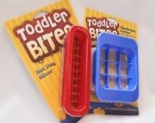 Toddler Bites Sandwich and Hot Dog Cutter