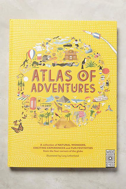 Atlas Of Adventures - anthropologie.com