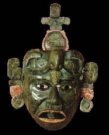 Mascara de Jade  Maya
