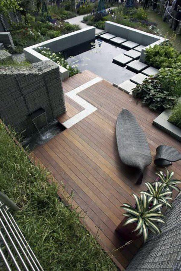 A Modern Garden.