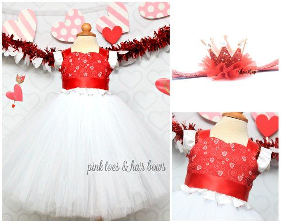 47bbe6be5 Valentine Dress-Girls Valentines Dress- Valentines tutu dress-Valentine tutu-Valentine  outfit-baby valentines outfit