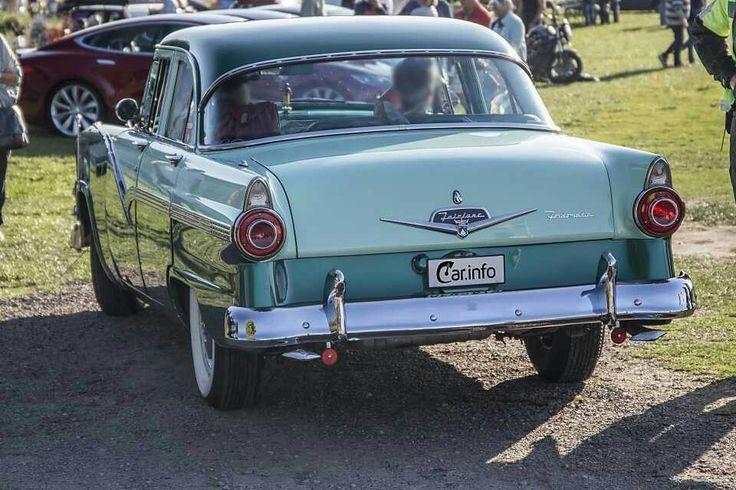 Ford Customline Fordor Sedan 4.5 V8 Automatic, 178hp, 1956