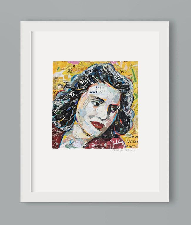 NEW ART PRINT AVAILABLE // Amália Rodrigues portrait //// A3 or A4 // limited edition from the original artwork by ©philippe patricio // all rights reserved