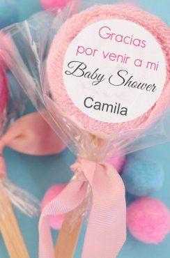 DIY: Paletas hechas con toallas de bebé | Blog de BabyCenter #babyshower @Carolina Krupinska Llinas