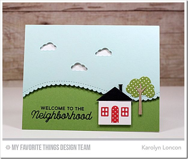 No Place Like Home Card Kit - Karolyn Loncon  #mftstamps