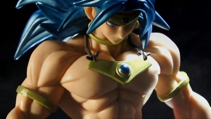 BROLY BANPRESTO FIGURE COLOSSEUM DRAGON BALL Z SSJB SCULTURES VOL.3