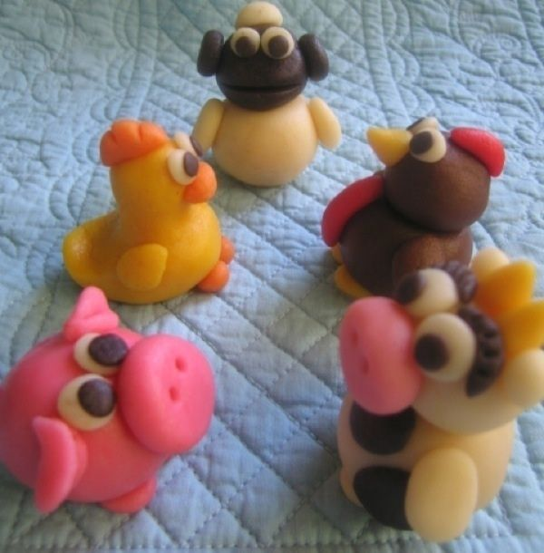 marzipan+animals | Marzipan Animals ∙ Recipe by Sonya N. on Cut Out + Keep