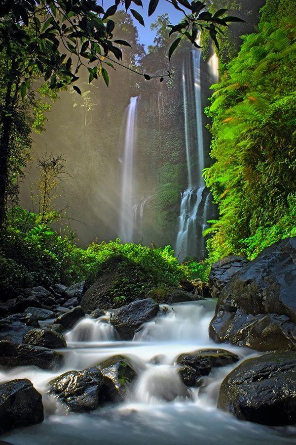 Sekumpul Waterfall in Buleleng - Bali, Indonesia