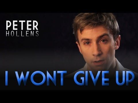 "Click here to buy ""I won't give up"" --- http://itunes.apple.com/us/album/i-wont-give-up-cappella-single/id498176950    Have my Physical CDs sent to you anywhere worldwide: http://store.peterhollens.com/  Amazon:  http://www.amazon.com/I-Wont-Give-Up/dp/B007CK9BAG    Google Play: https://play.google.com/store/search?q=Peter+Hollens=music    OFFICIAL PE..."