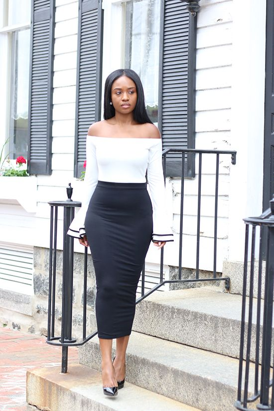 Prissysavvy: Chic in Black and White