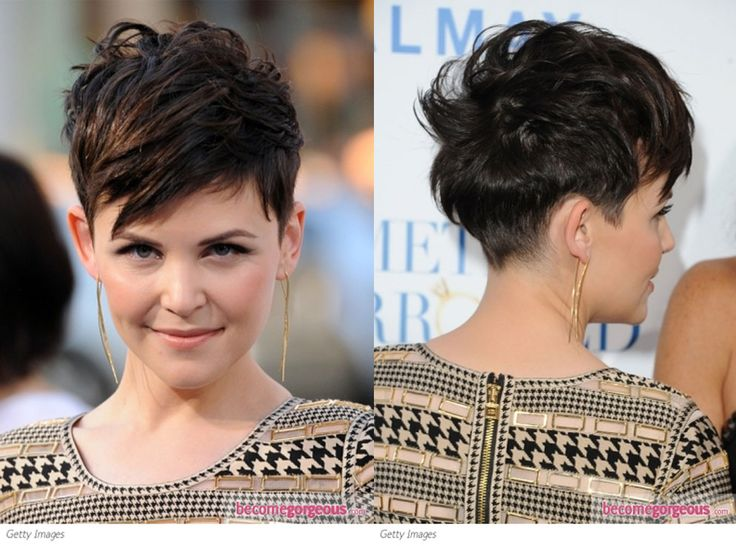 Long Pixie Cut Front And Back View | newhairstylesformen2014.com