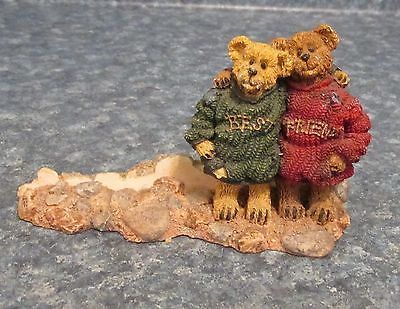 Jessie & Jamie #27309 Figurine Boyds Bears Collection
