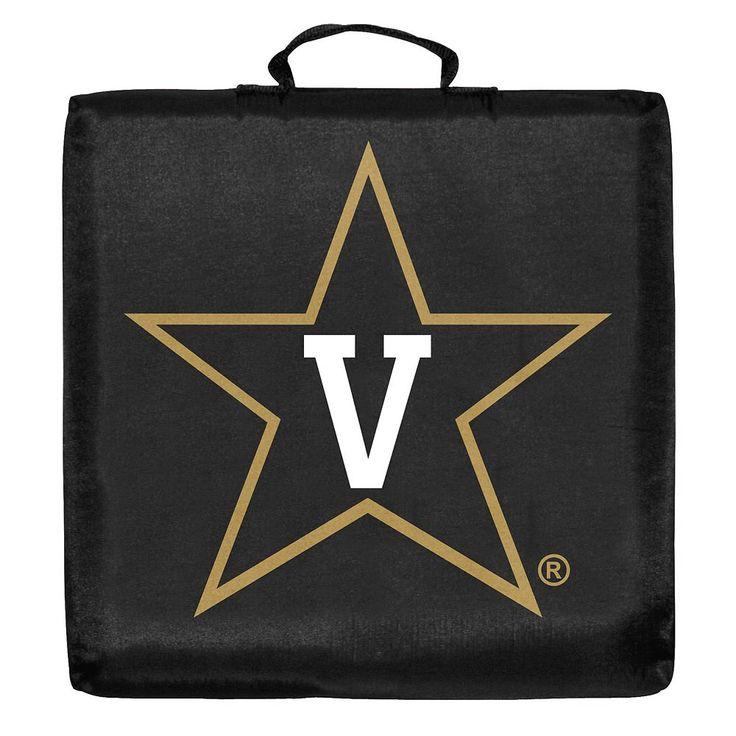 Logo Brand Vanderbilt Commodores Stadium Cushion, Multicolor