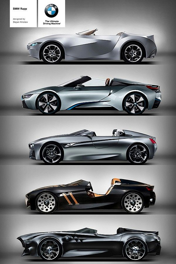BMW Rapp Anniversary Concept. GINA, i8, Vision ConnectedDrive, 328 Hommage, Rapp Concept