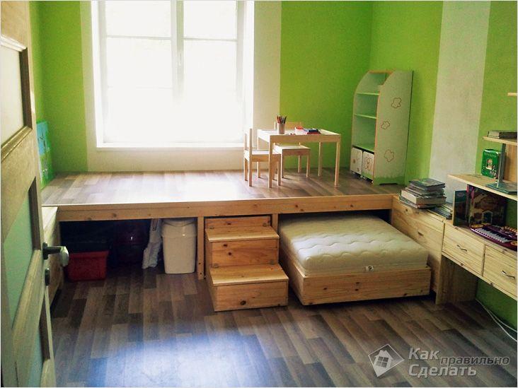 В маленькой квартире