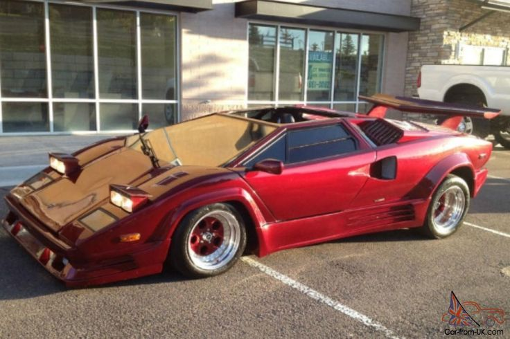 Countach Fiero Kit Cars For Sale 1989 Lamborghini