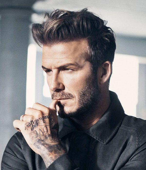 Style it like Beckham for 2015. #menshairtrends #slickhair #DavidBeckham