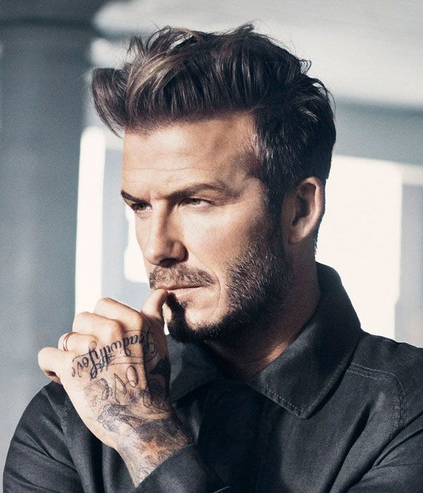 Best Ideas David Beckham Long Hair