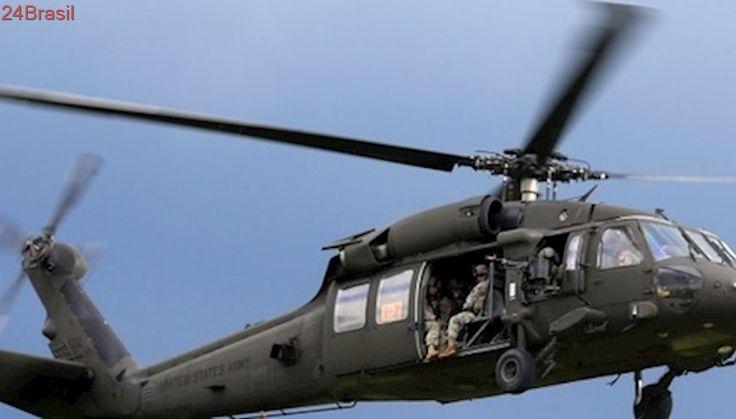 Helicóptero militar dos EUA cai no Havaí com 5 pessoas a bordo, diz Guarda Costeira