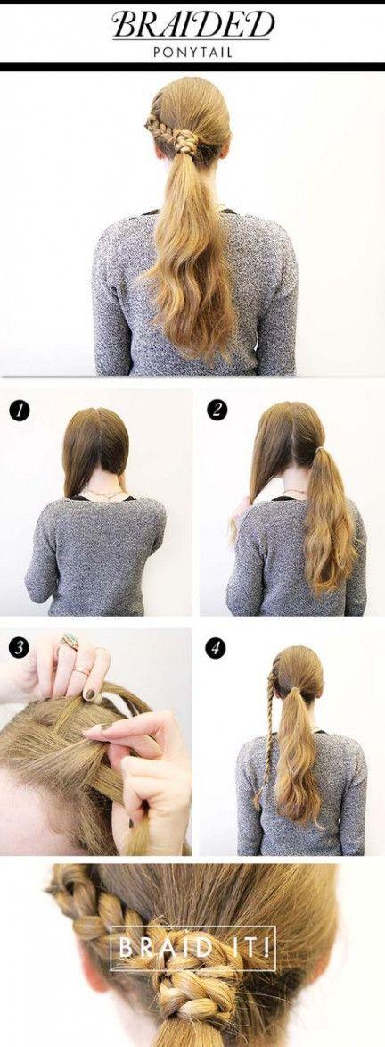 46+ Ideas hair tutorial easy lazy girl side braids for 2019