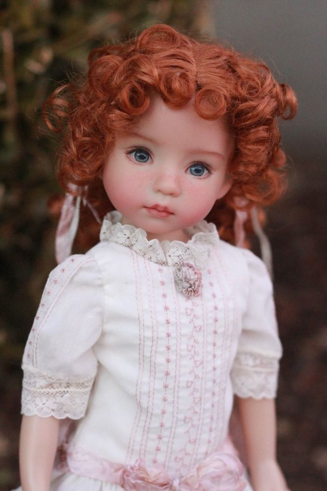 "Dianna Effner Little Darling 13"" Vinyl Studio Doll Samantha"