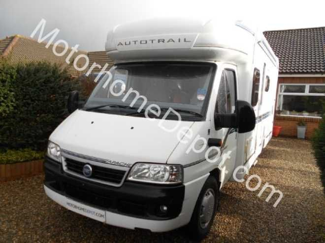 Auto-Trail Apache 670SE G, 4 berth, (2006) Second Hand  Motorhome for sale in Nottinghamshire