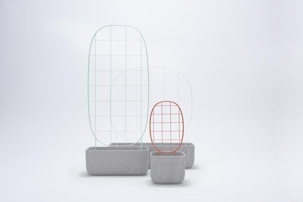 Berga, vasi da esterno Plantrellis, design Luca Nichetto, a partire da 556,60