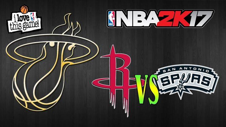 Houston Rockets vs San Antonio Spurs|Play Hard |NBA Matchday Simulation|...