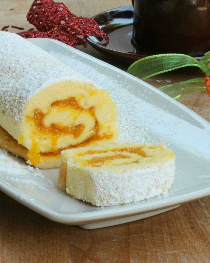 ROTOLO SCIUè SCIUè ricetta dolce da forno veloce con marmellata