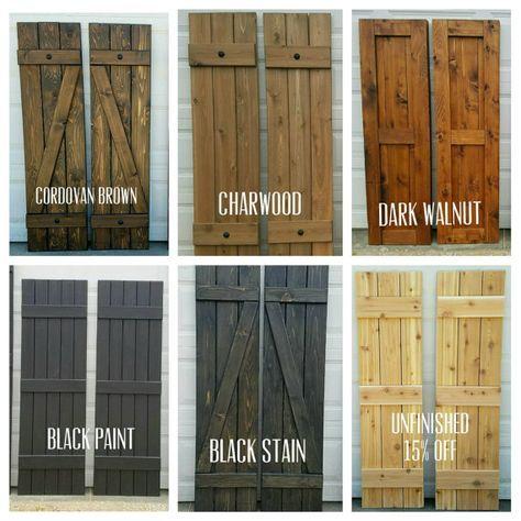 Best 25+ Rustic shutters ideas on Pinterest | Wood shutters, DIY ...