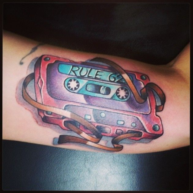 Cassette And Headphones Tattoo: 15 Best Boombox Images On Pinterest