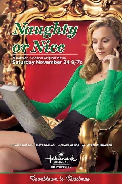 """Naughty Or Nice"" A Hallmark Channel Original Movie (2012) starring Hilarie Burton and Matt Dallas | #christmasmovies"