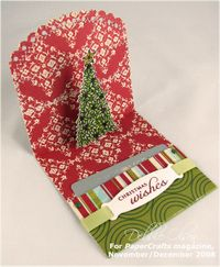 Christmas Wishes Gift Card Holder: PaperCrafts Online Bonus