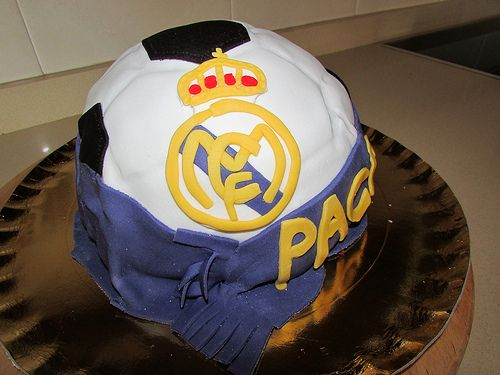 Tarta Real Madrid / Real Madrid Cake