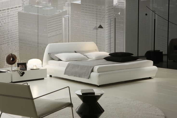 white minimal bedroom - Google Search