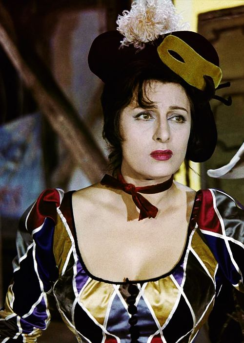 Magnani is the quintessence of Italy. She is also the absolute personification of theater, real theater with cartboard scenery, smoky candlesticks and faded gold tinsels.  Jean Renoir