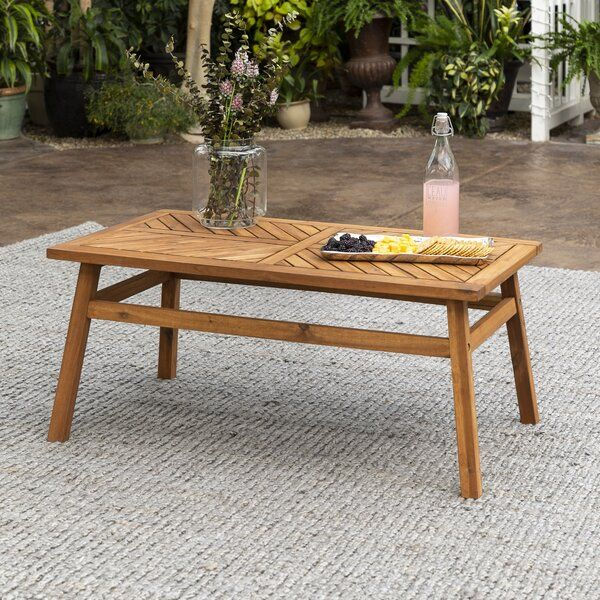 Skoog Wooden Coffee Table Outdoor Coffee Tables Solid Wood