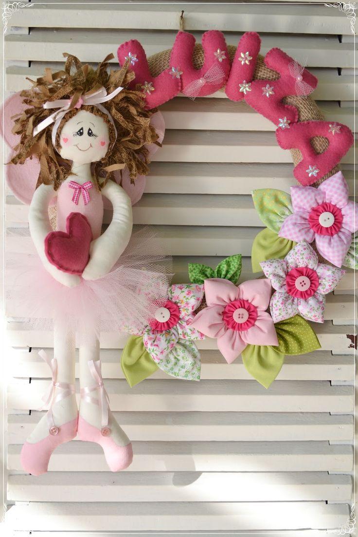 DSC_0008.jpg (1067×1600)Felt Crafts Wreaths Felt Names, For Experiment, Feltro Moldings, Project To, Ems Geral, Fairies Wreaths, Ballerina, Moldings Artesanato, Crafts Ems