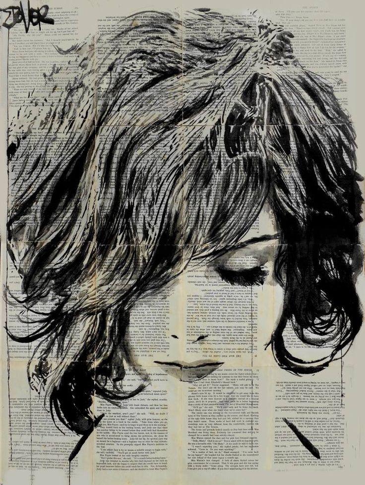 "Saatchi Art Artist Loui Jover; Drawing, ""pip"" #art"
