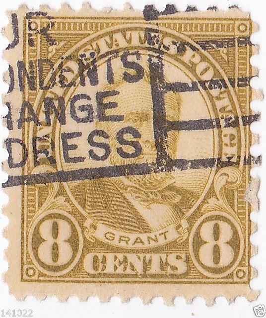 ULYSSES GRANT 1927 STAMP US #640