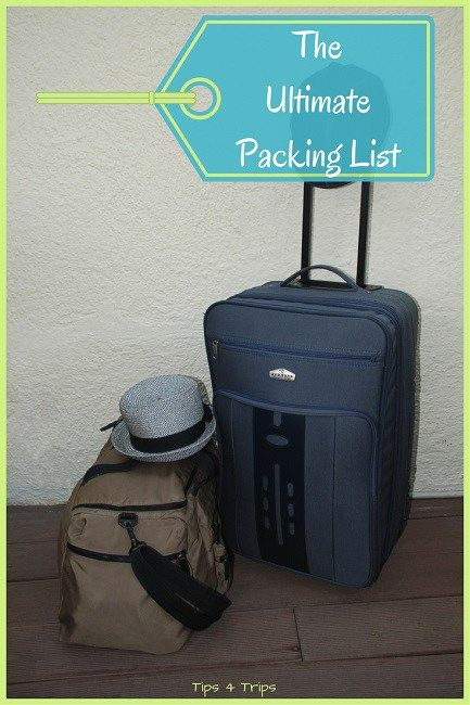 The ultimate travel packing checklist for your next holiday