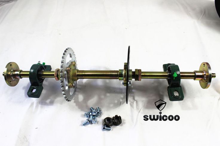 Huffy Slider Drift Trike Go Kart Project 20mm Complete 620mm Mini Axle Kit | Vehicle Parts & Accessories, Go Kart Accessories | eBay!