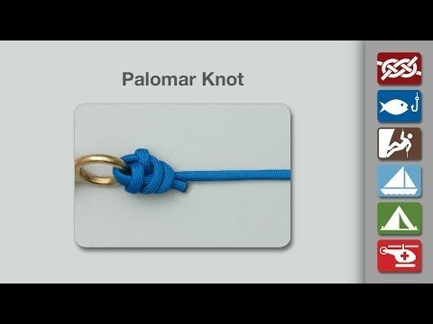 Palomar Knot | How to tie the Palomar Knot | Fishing Knots ༺✿ƬⱤღ✿༻