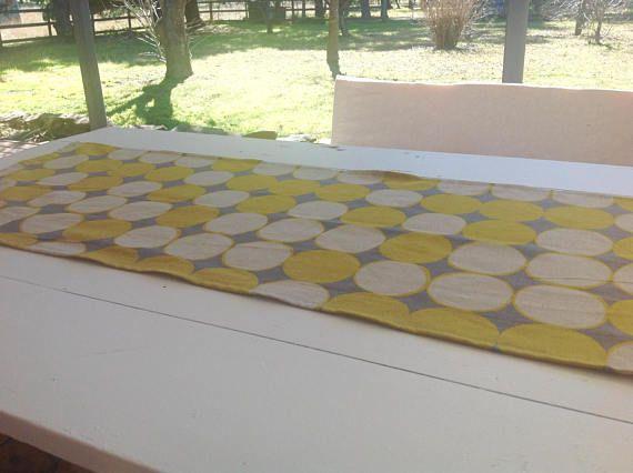 Linen Table Runner Modern Table Runner